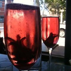 Photo taken at Cellar Wine Bar by Amanda F. on 5/14/2011