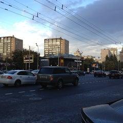 Photo taken at Большая Дорогомиловская улица by Natalie S. on 9/4/2012
