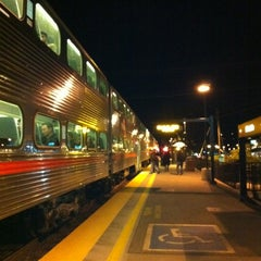 Photo taken at Hillsdale Caltrain Station by is K. on 3/10/2012