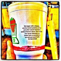 Photo taken at Jamba Juice by Michael F. on 6/7/2012