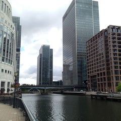 Photo taken at Canary Wharf by Fabian O. on 5/15/2012
