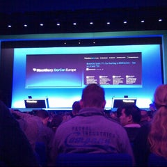 Photo taken at BlackBerry DevCon Europe at the Amsterdam RAI Convention Centre by Paul R. on 2/7/2012