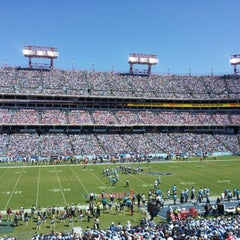 Photo taken at Nissan Stadium by Mandy H. on 9/9/2012