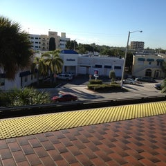 Photo taken at MDT Metrorail - South Miami Station by Lysh R. on 2/13/2012