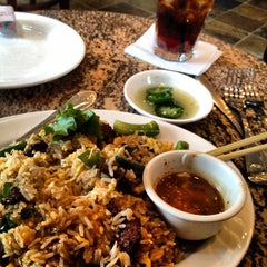 Photo taken at Vietopia Vietnamese Cuisine by Ben E. on 2/24/2012