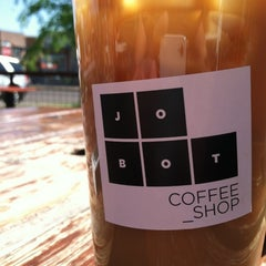 Photo taken at Jobot Coffee by Ian D. on 3/29/2012