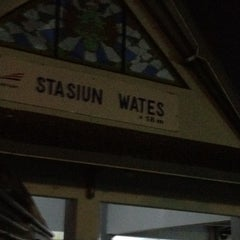 Photo taken at Stasiun Wates by Ignatius on 8/21/2012