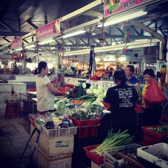 Photo taken at Kovan Hougang Market & Food Centre by Ken C. on 8/20/2012