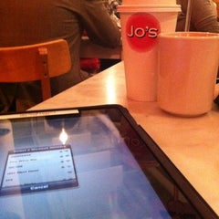 Photo taken at Jo's Coffee by Tammy G. on 3/10/2012