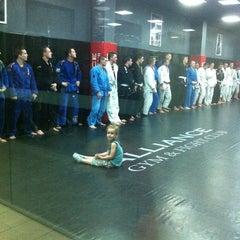 Photo taken at Alliance Gym & Fight Club by Vitaliya N. on 7/5/2012