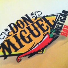 Photo taken at Don Miguel Mexican Bar by Eduardo E. on 5/24/2012