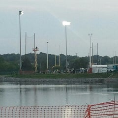 Photo taken at Saint Thomas Sports Park by Keith K. on 8/15/2012