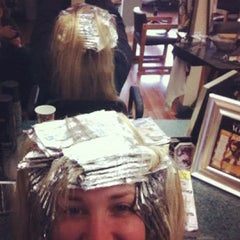 Photo taken at Studio West Salon by Lo lo on 2/25/2012