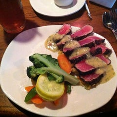 Photo taken at Outback Steakhouse by Mark B. on 3/27/2012