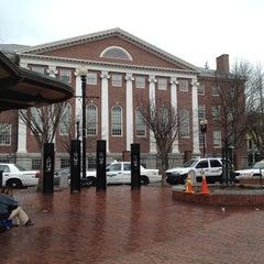 Photo taken at Harvard Square by Angel N. on 3/16/2012
