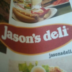 Photo taken at Jason's Deli by Gina H. on 5/1/2012