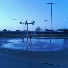 Photo taken at Fort Sam Houston MWR Splashpad by Robert H. on 8/4/2011