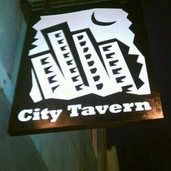 Photo taken at City Tavern by S P. on 3/13/2012