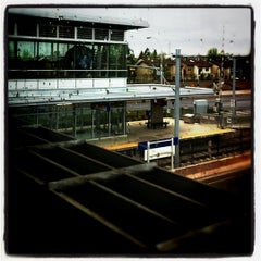 Photo taken at Century Park LRT Station by Bunny B. on 5/23/2011