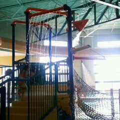 Photo taken at Castle Rock Community Recreation Center Leisure Pool by kelli t. on 12/7/2011