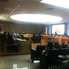Photo taken at Tribunal Regional do Trabalho da 8ª Região by Alessandra A. on 3/29/2012
