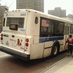 Photo taken at MTA Bus - E 125 St & Lexington Av (Bx15/M35/M60-SBS/M98/M100/M101) by 🔌Malectro 7. on 3/18/2012