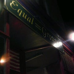 Photo taken at Equal Grounds Coffeeshop & Books by Koop K. on 4/15/2012