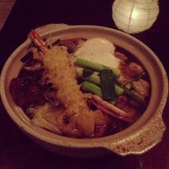 Photo taken at Marumi Sushi by Cara P. on 5/16/2012