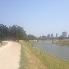 Photo taken at Trinity River Park by Claire on 8/10/2012