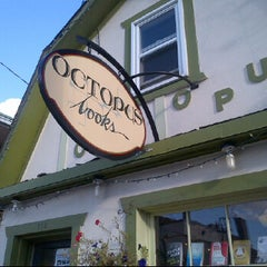 Photo taken at Octopus Bookstore by Paul G. on 8/28/2012