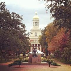 Photo taken at Baylor University by Ashley C. on 11/19/2011