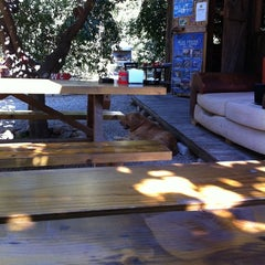 Photo taken at Olympos Deep Green Bungalows by Selen A. on 8/23/2011