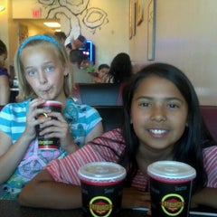 Photo taken at Fatburger by Julissa M. on 4/21/2012
