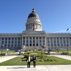 Photo taken at Utah State Capitol Building by Doey N. on 5/20/2012
