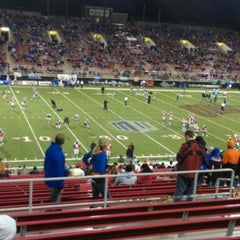 Photo taken at Sam Boyd Stadium by Eugene L. on 11/6/2011