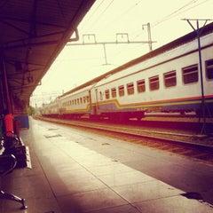 Photo taken at Stasiun Pasar Senen by arie p. on 6/8/2012