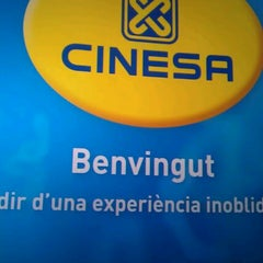 Photo taken at Cinesa Diagonal Mar by MarcosGF on 1/22/2012
