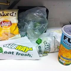 Photo taken at Subway by Carlos V. on 7/7/2012