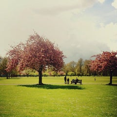 Photo taken at Battersea Park by marianne h. on 4/22/2012