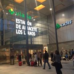 Photo taken at Estación de Albacete-Los Llanos by Franvat on 4/27/2012