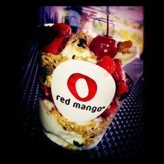 Photo taken at Red Mango by Sioux Falls DJ | J. on 8/9/2012