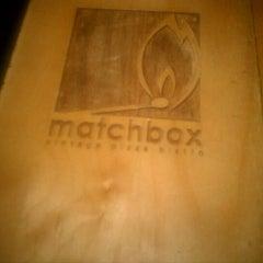 Photo taken at Matchbox Vintage Pizza Bistro by D J. on 11/23/2011
