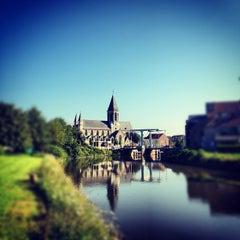 Photo taken at Deinze by StijnV on 8/10/2012
