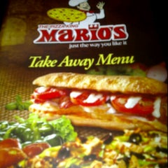 Photo taken at Mario's Pizza, Chaguanas - Main Rd. by Fabian B. on 11/15/2011