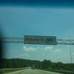 Photo taken at Ohio/Indiana State Line by Beth D. on 7/31/2011