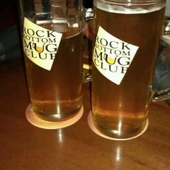 Photo taken at Rock Bottom Brewery by Gavin D. on 6/1/2012