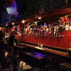 Photo taken at Crown & Anchor Pub by Vegas U. on 9/1/2012