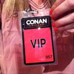 Photo taken at CONAN Chicago @ Chicago Theater by Alix M. on 6/14/2012