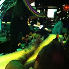 Photo taken at Celsius Restaurant + Bar by Zain B. on 3/5/2011