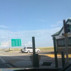 Photo taken at Toll Plaza by Claudia G. on 7/31/2011